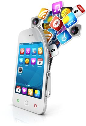 apps von handy auf tablet