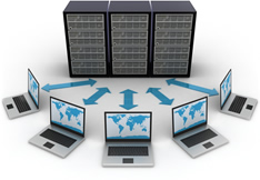 Webhosting, Domainregistrierung und Managed Server